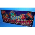 Bally Triple Bonus Frenzy Glass
