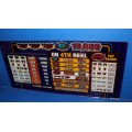 Bally 3x 6x 9x Times Pay Glass