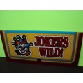 IGT Rare Jokers Wild Belly Glass