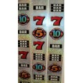 Bally 5x 10x Pay Reel Strips