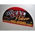 CDS Real Deal Poker Glass (NEW)