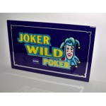 IGT Wild Poker Glass Old But NEW