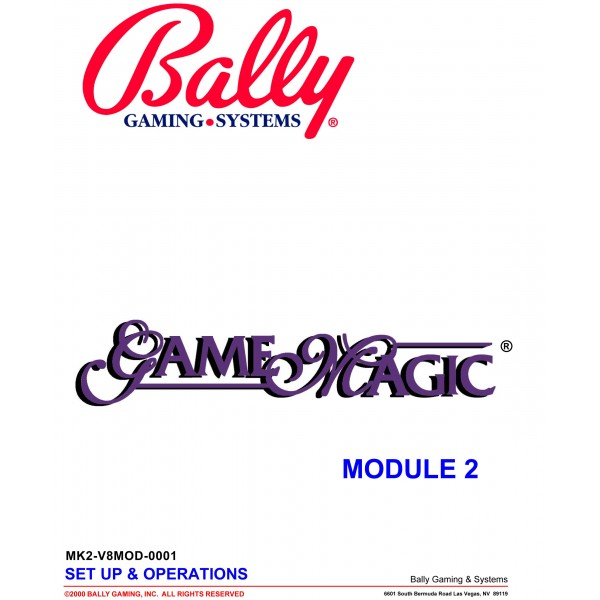 save off sneakers for cheap sale Bally Game Magic Manual Download