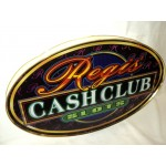 Regis Cash Club Casino Sign