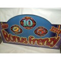Bonus Frenzy Casino Sign