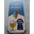 Old Pabst Wood Beer Sign